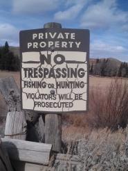 TrespassingSign