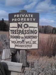 TrespassingSign