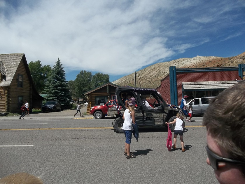 July 4 parade Dubois WY