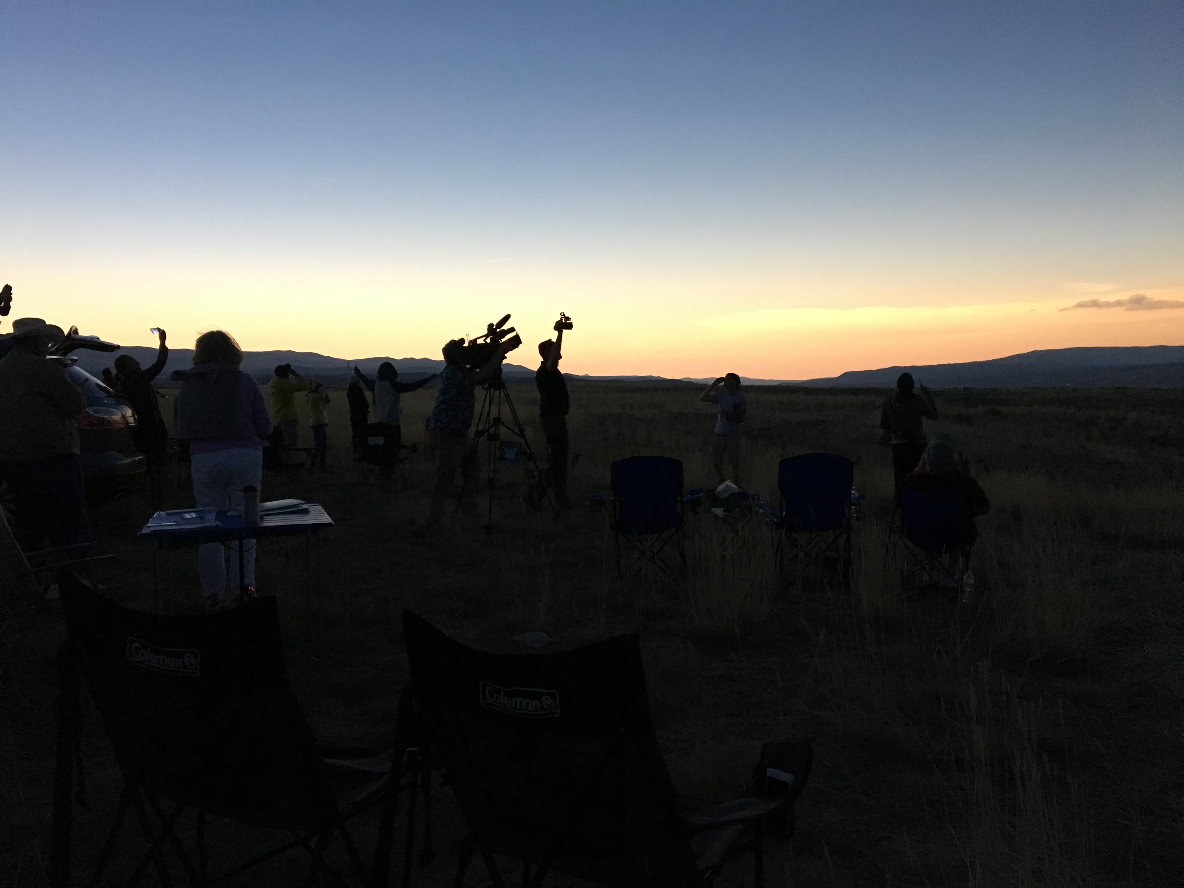 Dubois WY total eclipse 2017